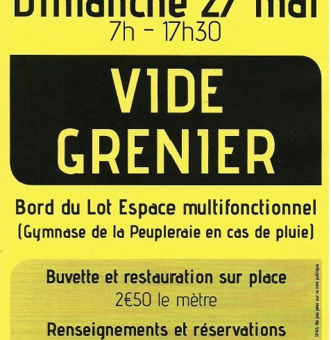 VIDE GRENIER DE L'ASSOCIATIONS DES PARENTS D'ELEVES