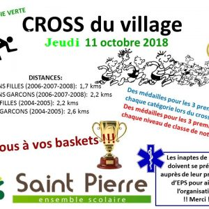 CROSS DU COLLEGE