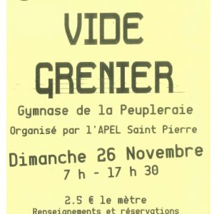 Vide grenier de l'Association  des Parents d'ELèves
